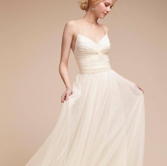 47fa4093f0a4 Anthropologie Dresses | Anthropology Wedding Dress Ivory | Poshmark